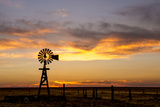 Plains Windmill Photographic Print by Dan Ballard