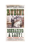 Rubini Beheading Giclee Print
