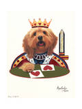 King of Hearts Giclee Print by Jenny Newland