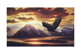 Sacred Vigil Giclee Print by R.W. Hedge