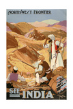 See India Giclee Print