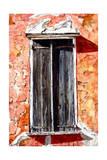 Shuttered Window Giclee Print by Laurin McCracken