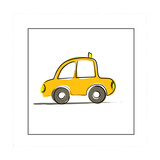 Taxi Giclee Print