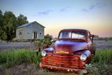 Old Chev Fotodruck von Wayne Bradbury