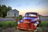 Old Chev Photographic Print by Wayne Bradbury