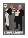 Stuhrs1909 Caviar Hamburg Giclee Print
