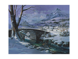 Snowy River Giclee Print by Michael R. Humphries