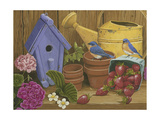 Signs of Spring Giclee Print by William Vanderdasson