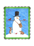 Snowman Giclee Print by Melinda Hipsher