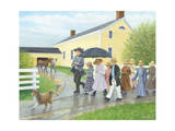 Off to School Giclee Print by Kevin Dodds