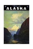 Trav Alaska Giclee Print