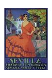 Sevilla Red Giclée-Druck