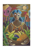 Offerings from Our Land Giclee Print by Oscar Ortiz