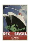 Rex Savoia Giclée-Druck