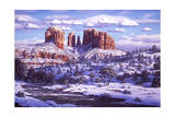 The Spirit of Red Rocks Giclee Print by R.W. Hedge
