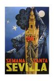 Semana Santa Sevilla IV Giclee Print