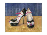 Target Platforms Giclee Print by Fiona Stokes-Gilbert