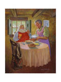 The Morning After Giclee Print by Hal Frenck