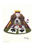 Queen of Spades Giclee Print by Jenny Newland