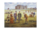St. Andrews Reproduction procédé giclée par Lee Dubin