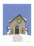 Tan Outhouse Giclee Print by Debbie McMaster