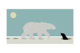 Polar Bear Giclee Print by Teofilo Olivieri