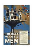 The Navy Wants Men Giclee Print