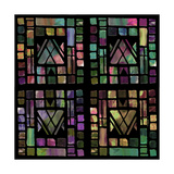 Quilt of Glass Giclee Print by Mindy Sommers
