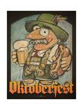 Oktoberfest Guy Giclée-tryk af Tim Nyberg
