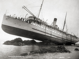 S.S. Princess May Wrecked Photographic Print