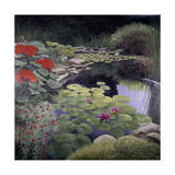 The Lily Pond Giclee Print by Kevin Dodds