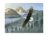 Soaring Eagle Giclee Print by Wilhelm Goebel
