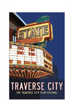 State Theater Poster Giclee Print by Michael Jon Watt