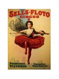 Sells-Floto Circus Giclee Print