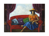 Summers Last Romance Giclee Print by Oscar Ortiz