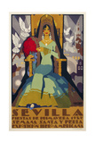 Seville Green Dress Giclee Print