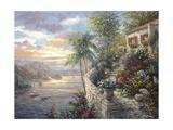 Tranquil Sea Lámina giclée por Nicky Boehme