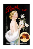Pears Soap Giclee Print