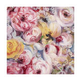 Swirly Bouquet Giclee Print by li bo