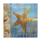 Starfish and sea Giclee Print