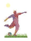 Soccer Giclee Print by Teofilo Olivieri
