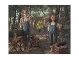 Summer Snapshot Giclee Print by Bob Byerley