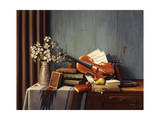 The New Violin Giclee Print by R.W. Hedge