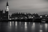 Thames and Big Ben Photographic Print by Giuseppe Torre