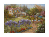 Springtime Hideaway Giclee Print by Nicky Boehme