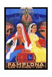 Pamplona XII Giclee Print