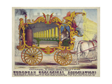 Steam Car of the Muses Giclee Print