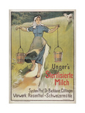 Ungers Milk Germany 1898 Giclee Print