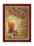 Tequila Sunrise Giclee Print by Lisa Audit