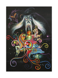 The Sorcerer Giclee Print by Sue Clyne